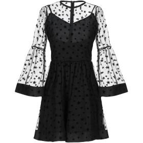 《セール開催中》SPACE レディース ミニワンピース&ドレス ブラック 38 ポリエステル 100%