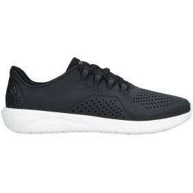 《セール開催中》CROCS メンズ スニーカー&テニスシューズ(ローカット) ブラック 5 紡績繊維