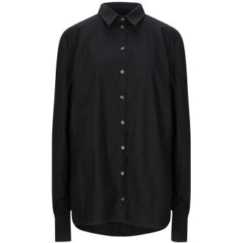 《セール開催中》NOSTRASANTISSIMA レディース シャツ ブラック 40 コットン 100%