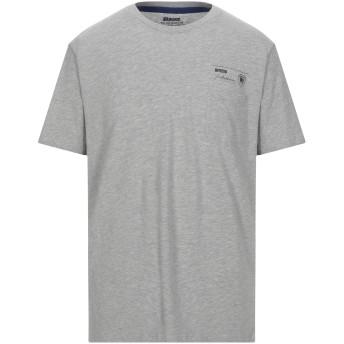 《セール開催中》BLAUER メンズ T シャツ グレー XXL コットン 100%
