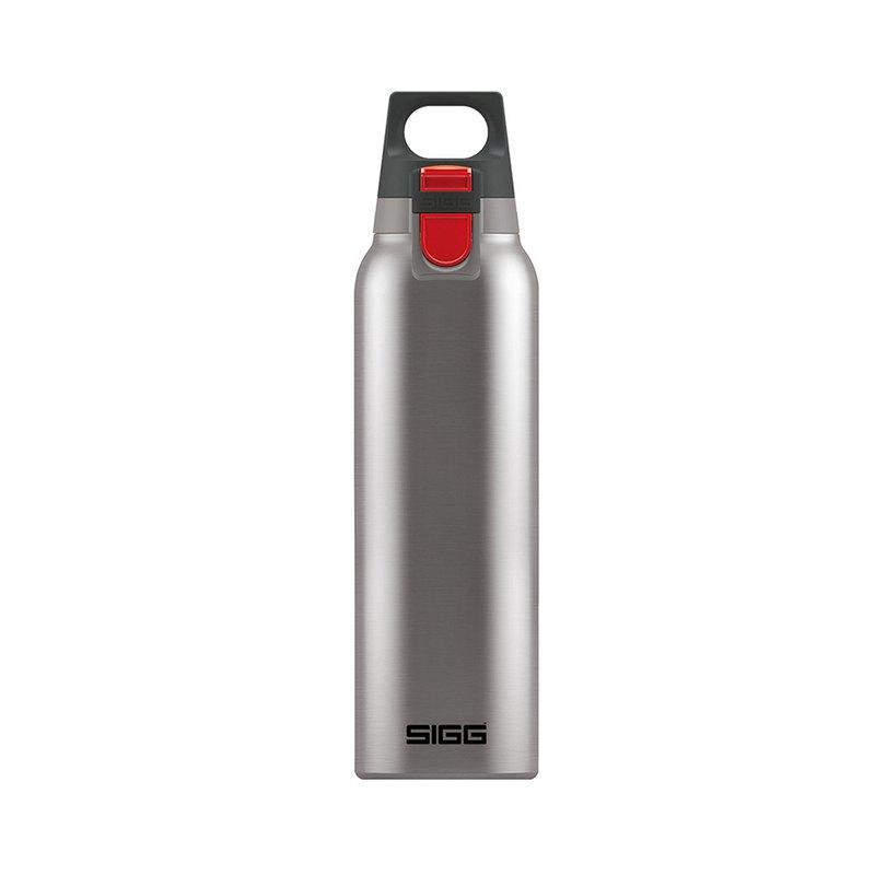 瑞士百年SIGG H&C彈蓋不鏽鋼保溫瓶 / 真空保溫瓶 500ml - 質感霧