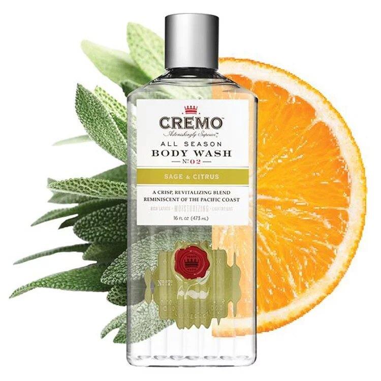 【紳士用品專賣】美國 Cremo - No.2 沐浴露(柑橘鼠尾草)