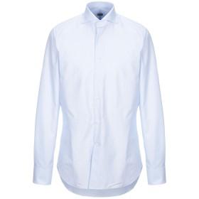 《セール開催中》ALESSANDRO GHERARDI メンズ シャツ スカイブルー 42 コットン 100%
