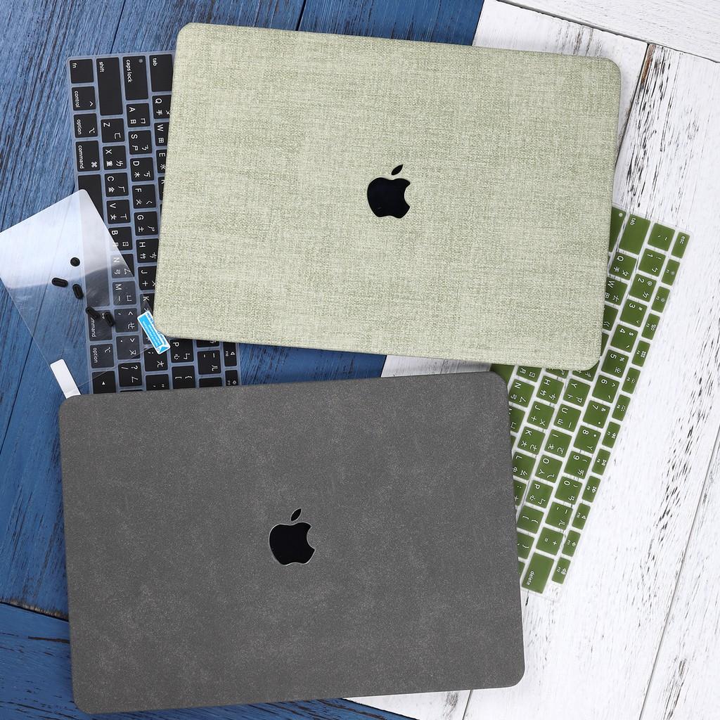蘋果電腦殼MacBook Air 13.3 Pro 2020 A2289 A2251 15吋保護殼 磨砂皮質保護套 鏤空