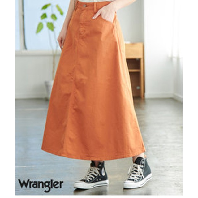 【SALE開催中】【ROPE' PICNIC:スカート】【WRANGLER×ROPE' PICNIC】カーペンタースカート