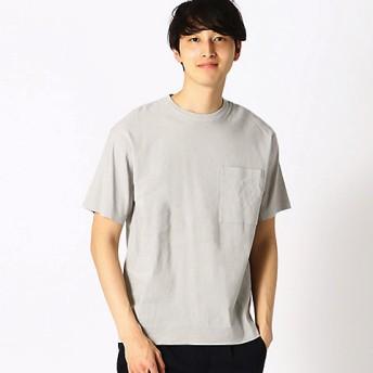 【SALE(伊勢丹)】<COMME CA ISM (メンズ)> リネン ハイパワーストレッチ Tシャツ(4760TL01) オフホワイト【三越・伊勢丹/公式】