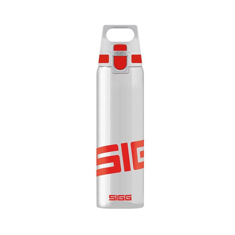 瑞士百年SIGG全清透Tritan水瓶/輕量水瓶/水壺 750ml - 亮紅