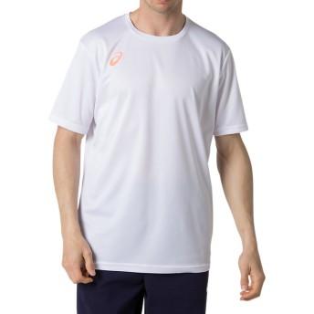 ASICS アシックス グラフィックショートスリーブトップ ユニセックスアパレル Tシャツ・ポロシャツ ブリリアントホワイト S