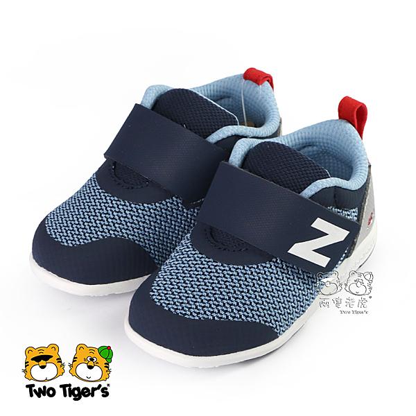 New Balance 223 深藍 魔鬼氈 寶寶鞋 小童鞋 NO.R4914