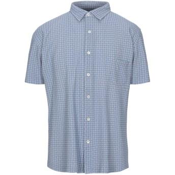 《セール開催中》GIAMPAOLO メンズ シャツ グレー XL コットン 100%
