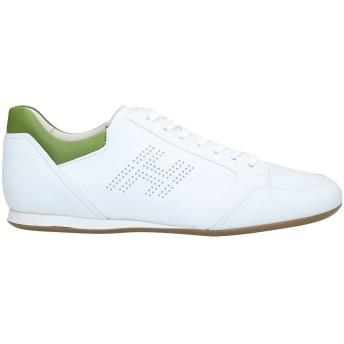 《セール開催中》HOGAN メンズ スニーカー&テニスシューズ(ローカット) ホワイト 5.5 革