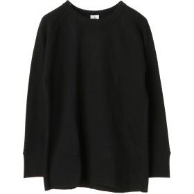FRUIT OF THE LOOM L_FTL_サーマル長袖丸首 Tシャツ・カットソー,ブラック