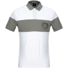 《セール開催中》ARMANI EXCHANGE メンズ ポロシャツ ホワイト XS コットン 100%