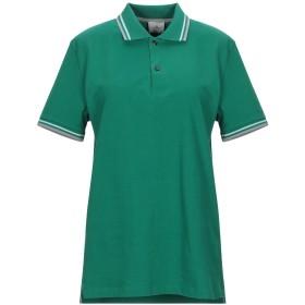 《セール開催中》PEUTEREY レディース ポロシャツ グリーン S コットン 96% / ポリウレタン 4%