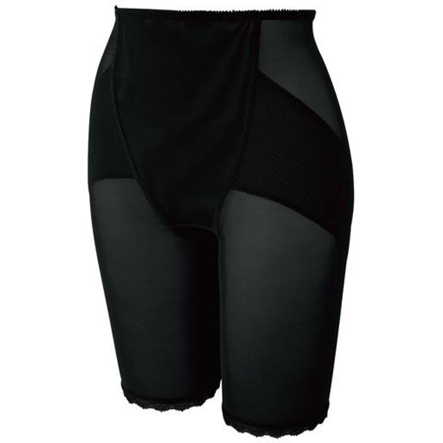 30%OFF【レディース】 ロングガードル(ミディアムタイプ) - セシール ■カラー:ブラック ■サイズ:64,70,76,82,55
