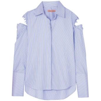 《セール開催中》MAGGIE MARILYN レディース シャツ ブルー 14 コットン 100%