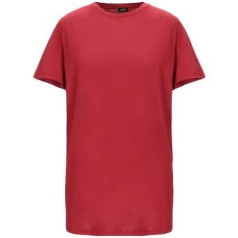 《セール開催中》ASPESI レディース T シャツ レッド XS コットン 100%