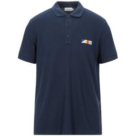 《セール開催中》CALVIN KLEIN メンズ ポロシャツ ダークブルー S コットン 100%