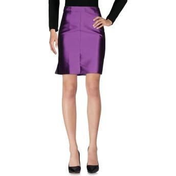 《セール開催中》BLUGIRL BLUMARINE レディース ひざ丈スカート パープル 38 ポリエステル 88% / シルク 12%