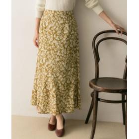 【URBAN RESEARCH:スカート】レオパードプリントスカート