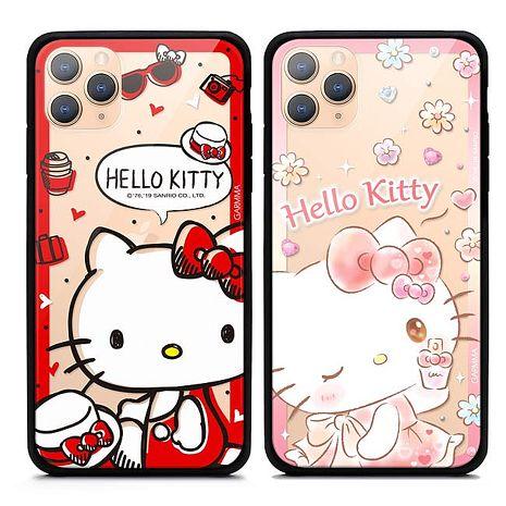 GARMMA Hello Kitty iPhone 11 Pro Max 手機玻璃殼