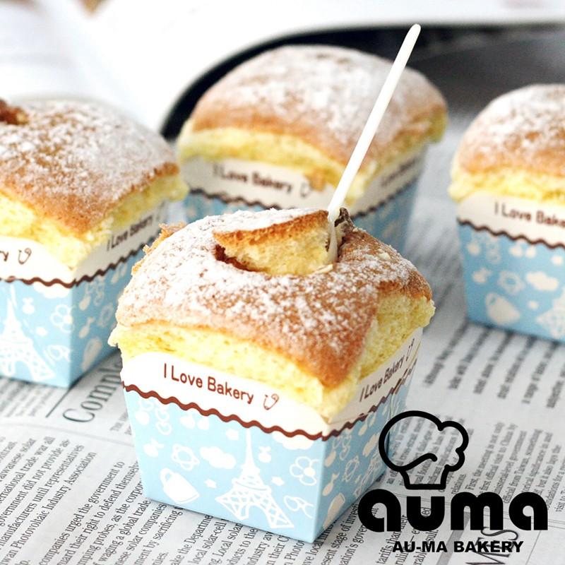 [免運]【奧瑪烘焙】北海道戚風蛋糕(60g±5g/顆X8顆/盒)共1盒(原味)
