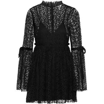 《セール開催中》ALICE McCALL レディース ミニワンピース&ドレス ブラック 6 100% ポリエステル