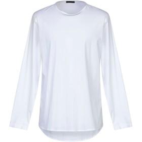 《セール開催中》ALESSANDRO DELL'ACQUA メンズ シャツ ホワイト L コットン 72% / ナイロン 25% / ポリウレタン 3%