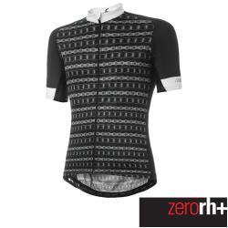 ZeroRH+ 義大利鐵鍊系列男仕專業自行車衣(黑) ECU0636_29P