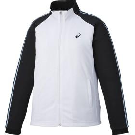 ASICS アシックス W'Sトレーニングジャケット レディースアパレル トレーニング・ジャージ ホワイト/ブラック XL