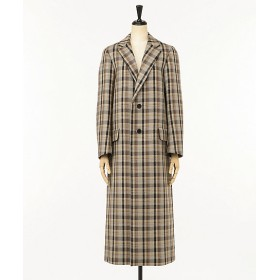 <AURALEE/オーラリー> DOUBLE FACE CHECK CHESTERFIELD COAT(A9AC03BN) BR CHECK【三越・伊勢丹/公式】