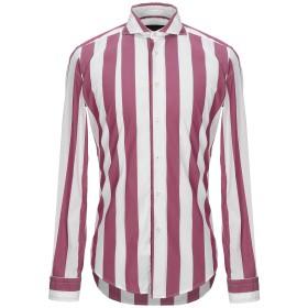 《セール開催中》BRIAN DALES メンズ シャツ モーブ 39 コットン 75% / ナイロン 21% / ポリウレタン 4%