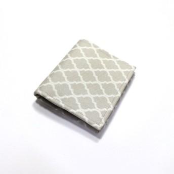 コンパクトなお財布★ 二つ折財布 モロッカン グレージュ【受注生産】