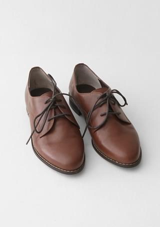 韓國空運 - vintage stitch loafer 平底鞋