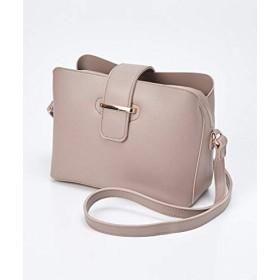 バッグ(鞄) [nissen(ニッセン)] 3室構造のショルダーバッグ ベージュ Y