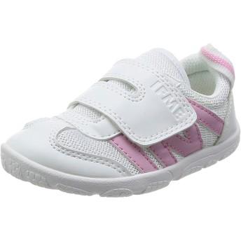 [イフミー] SC-0005 子供 キッズ ジュニア ローカット スニーカー 上履き (21.0cm, ピンク)