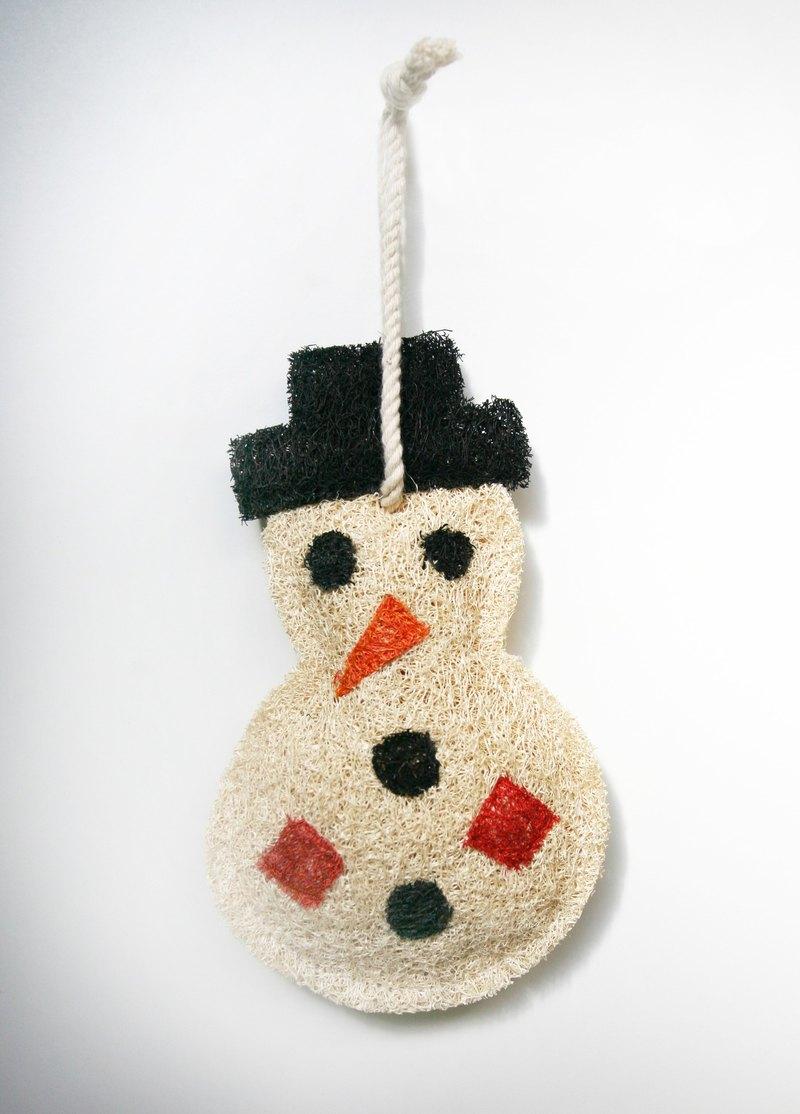洗刷刷-聖誕吊飾-雪寶