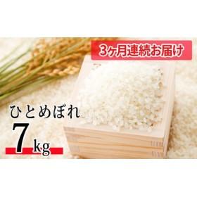 【3ヶ月連続お届け】令和元年産 郷の有機使用特別栽培米ひとめぼれ 7kg