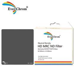 送磁鐵框~ Ever Chrom ND3.0 方形 減光鏡 100x100mm ND1000(Everchrom,公司貨)