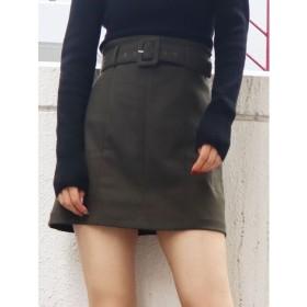 【エモダ/EMODA】 パネルスウィッチミニスカート