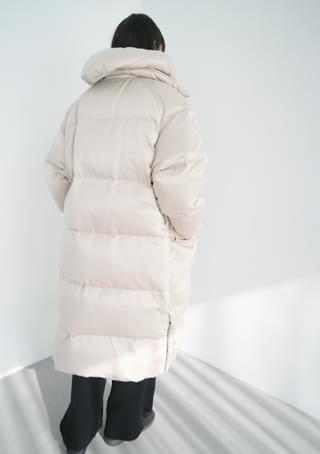 韓國空運 - chunky detail long padding 大衣外套