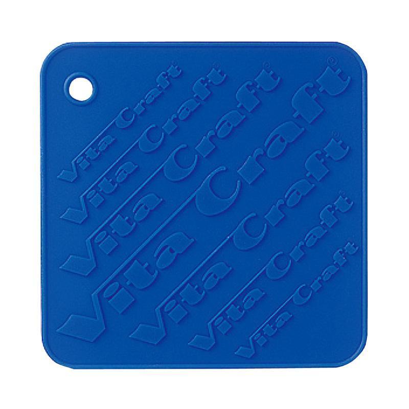 矽膠隔熱墊、防滑墊 (藍)2入