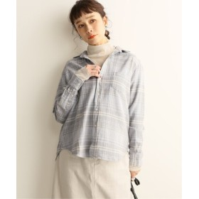 JOURNAL STANDARD 【Frank & Eileen/フランク&アイリーン】COTTON FLANNEL:シャツ グレーB XS