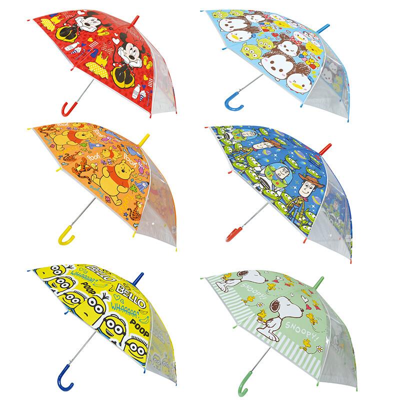 日本迪士尼卡通雨傘 兒童雨傘