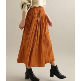 ViS(ビス)/【追加生産】マットサテンロングスカート