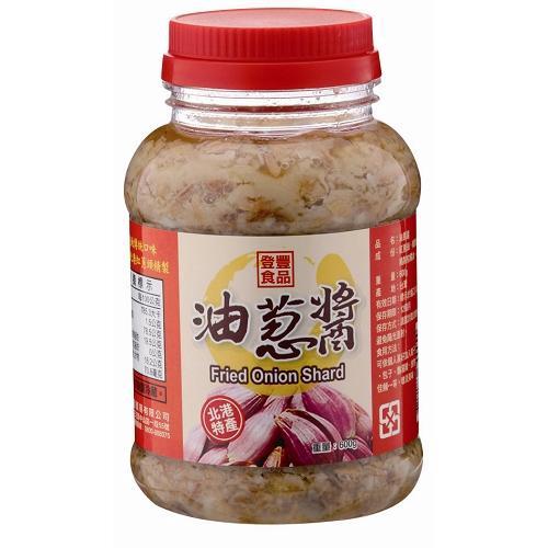 登豐油蔥醬 600g【愛買】