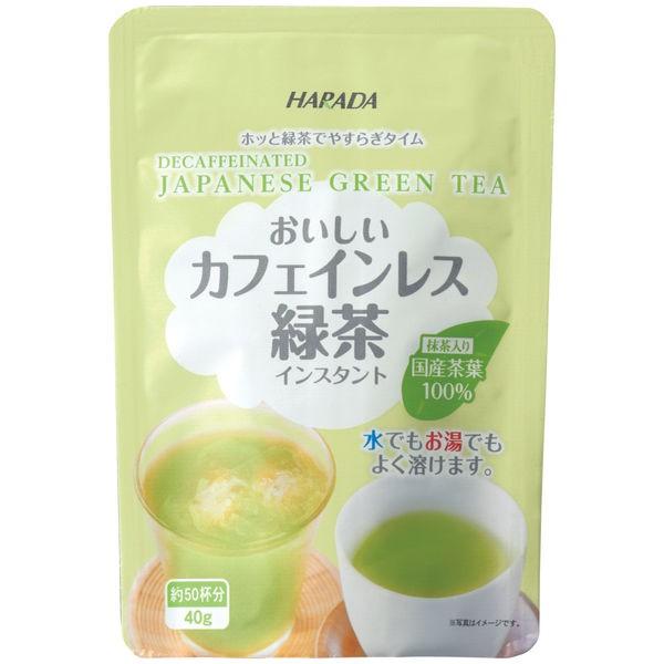 HARADA 零咖啡因 即溶綠茶粉 含抹茶 40g 5315684