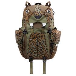 【Morn Creations】正版大貓電腦背包-豹紋