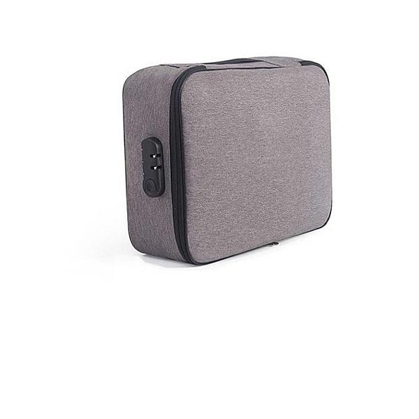 證件收納包SG711(自帶密碼鎖)盒家用家庭多層大容量檔案文件證件包護照證件收納袋