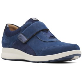 【オンワード】 Foot Community(フットコミュニティ) 【クラークス ウィメンズ】Un Adorn Lo/スニーカー ネイビースエード 30 (22.0cm) レディース 【送料無料】